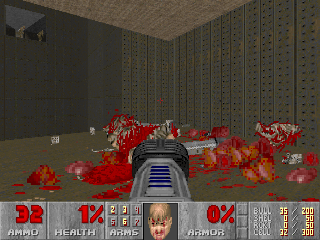 All the action of Brutal Doom but without the bitter aftertaste.