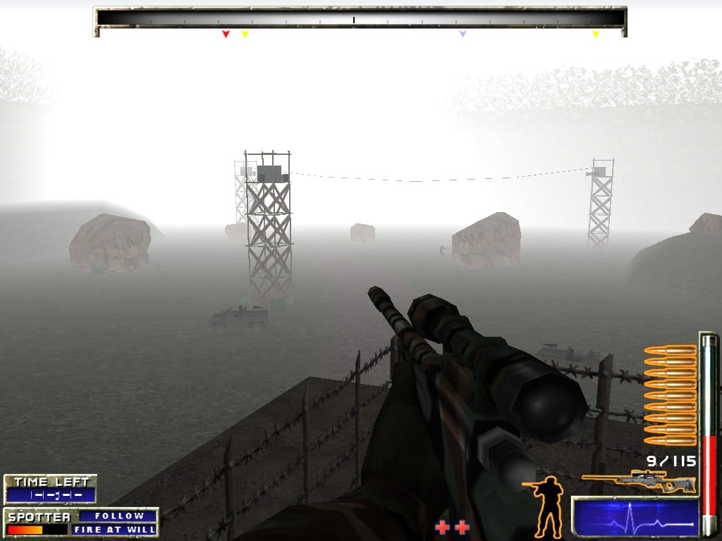 This game rivals Turok: Dinosaur Hunter in the foggy FPS department.