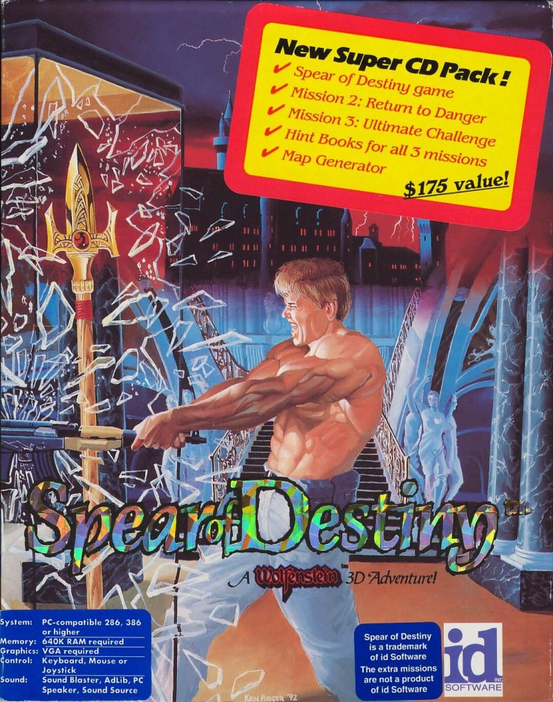 They don't make game covers like these anymore...